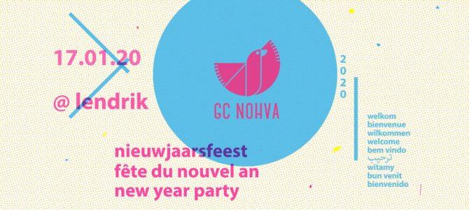 Vendredi 17/01, dès 18h : Nieuwjaarsfeest ! Drink et concert de nouvel an au GC Nohva