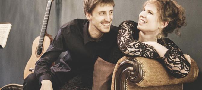 """Dimanche 16/02 au Salon Bugrane : Concert découverte : Duo Guitare-Piano – """"Las Tapas de Adentro"""""""