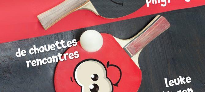 Jeudi 12/03 : Soirée d'inauguration nouvelle activité ping-pong aux Eglantines – EVENEMENT ANNULE !!!