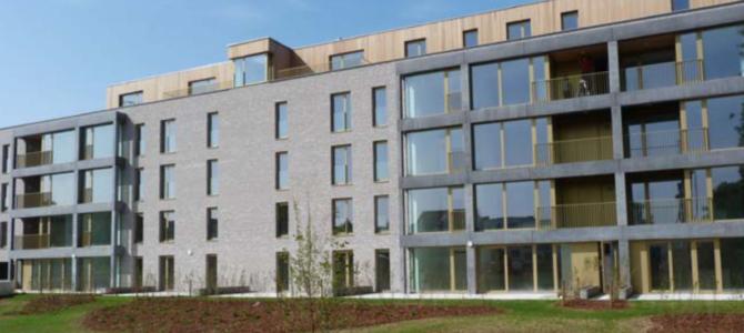 Rue Général Biebuyck: un nouvel immeuble de 42 logements