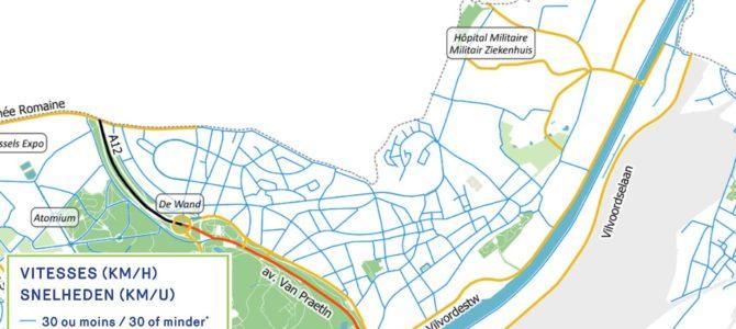 Bruxelles zone 30 dès ce 1er janvier 2021