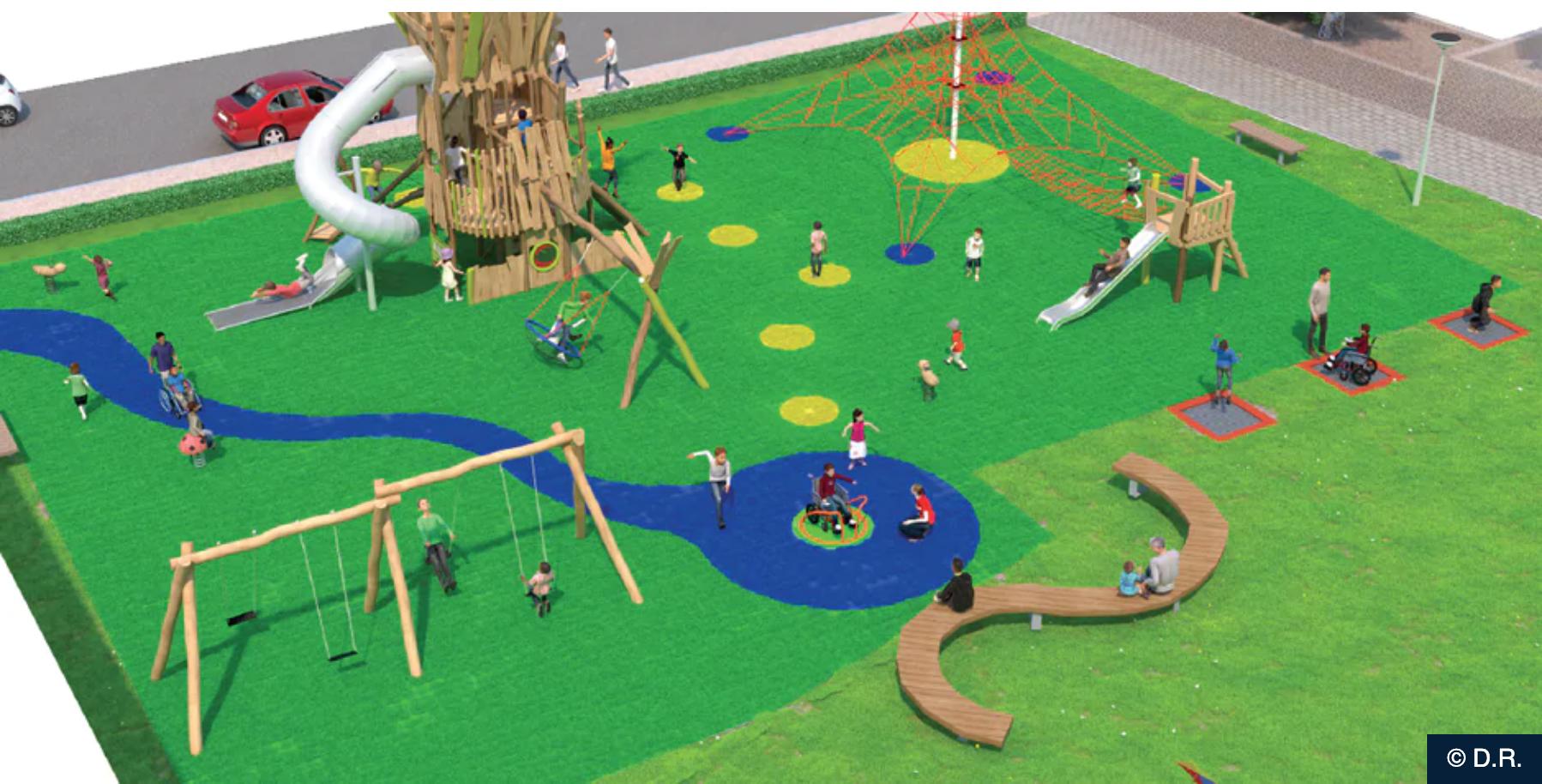 Un nouveau parc pour le quartier Versailles cet été