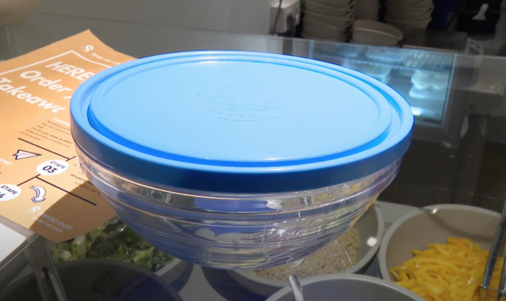 Une start-up bruxelloise pour réduire les déchets des repas livrés à domicile