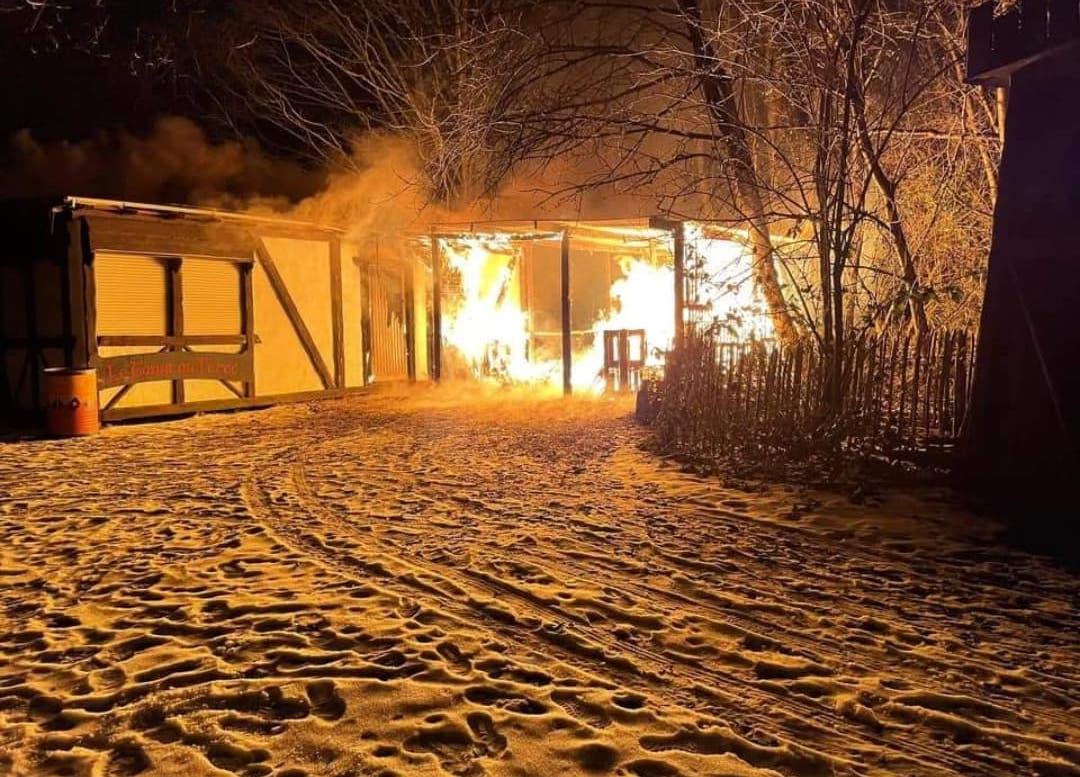 Incendie criminel au Sortilège