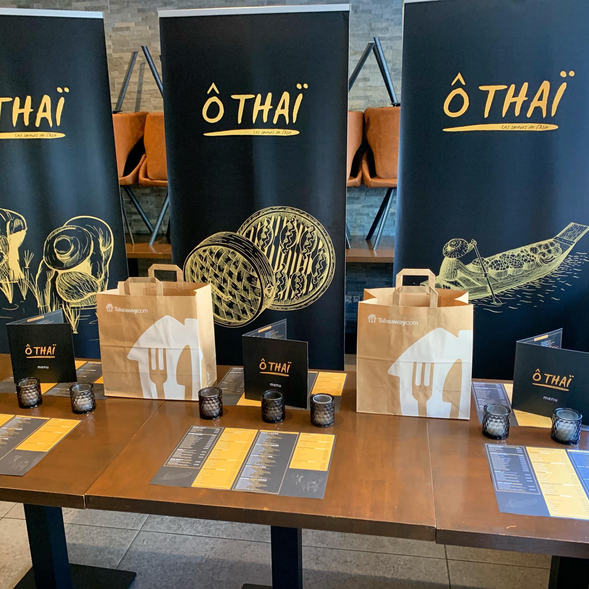 Promo spéciale du restaurant Ô Thaï !