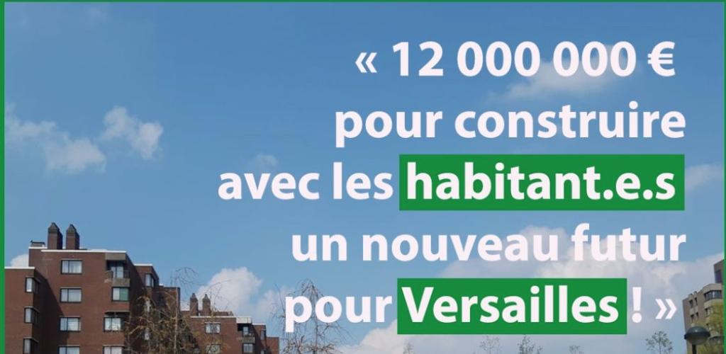 12.000.000 € pour la cité Versailles !