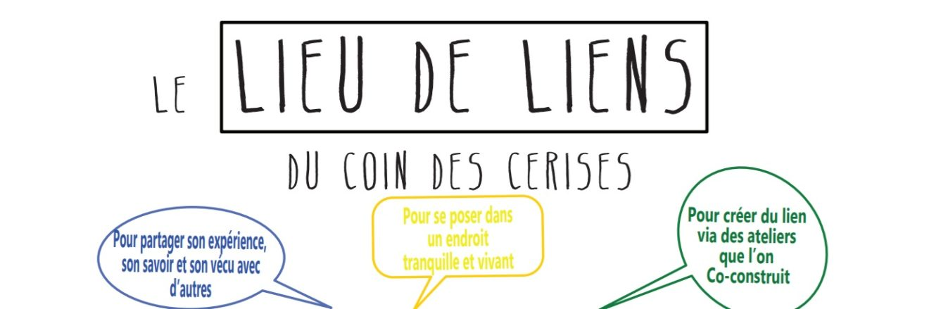Le Lieu de Liens du Coin Des Cerises vous propose des ateliers d'écriture le jeudi.