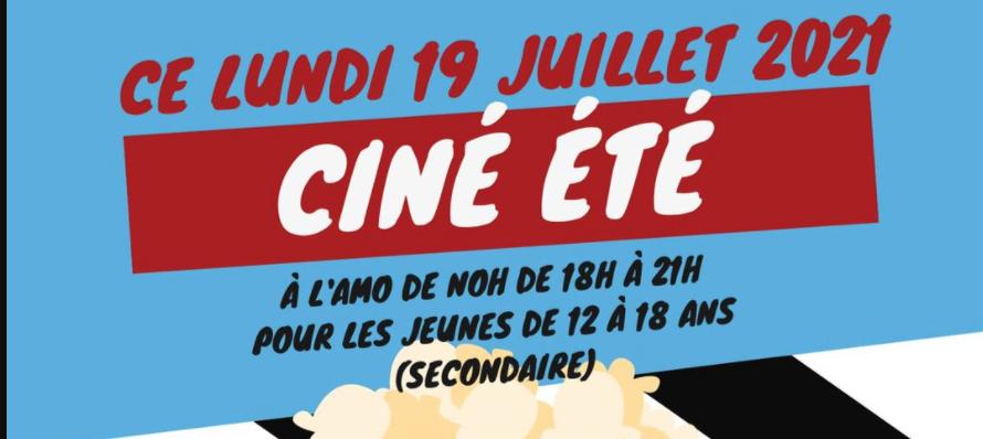 Lundi 19/07 ciné + débat sur la thématique du film à l'AMO