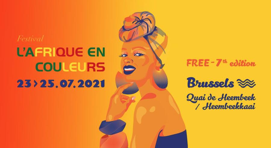 Du 23 au 25/07 : festival l'Afrique en Couleurs au quai de Heembeek