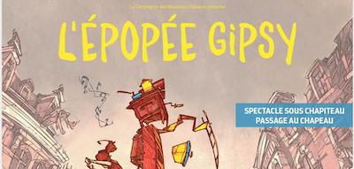 Les 17, 18 et 19/07 : Théâtre à Versailles : l'épopée Gipsy