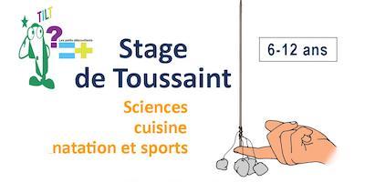 Stage de Toussaint : sciences, cuisine, natation et sports !